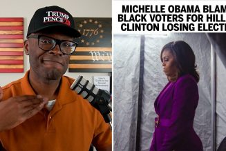 Michelle Obama Blames BLACK VOTERS For Hillary's 2016 Loss!