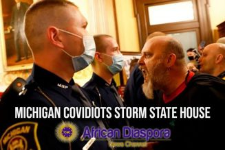 Michigan COVIDIOTS Storm State House To Demand Businesses Reopen; Where's The National Guard?