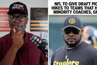 NFL To Give Draft Incentives To Teams That Hire Black Head Coaches!