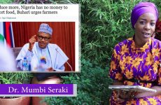 OMG! Nigeria's RUNS OUT of MONEY to IMPORT FOOD; says Buhari BEGS Nigerian Farmers to Produce MORE!