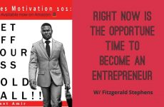 Right Now Is The Opportune Time To Become An Entrepreneur w/ Fitzgerald Stephens