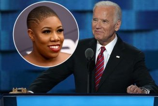 Symone Sanders Meltdowns Defending Joe Biden's Astonishing Comments On Blacks