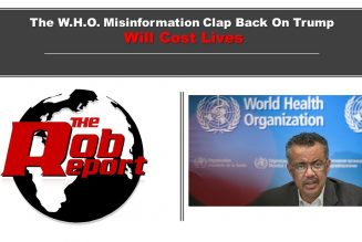 The Who Misinformation Clap Back On Trump Will Cost Lives