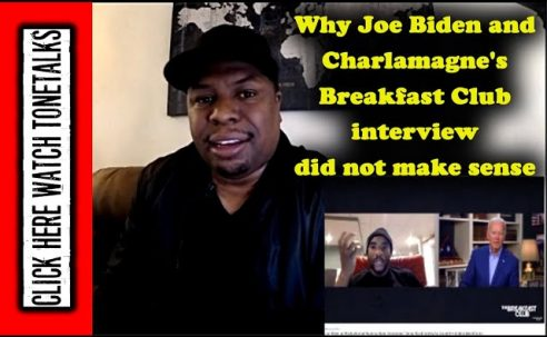 Why Joe Biden and Charlamagne's Breakfast Club interview did not make sense
