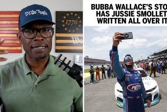 Are You BUYING The Bubba Wallace NASCAR Story?