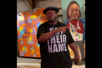 BPPC Code of Culture….Chairman Fred Hampton Jr. & artist BMike in New Orleans