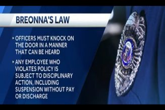 Breonna's Law: Nothing But Empty Symbolism