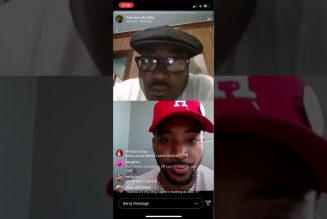 Chairman Fred Hampton Jr. & Algee Smith chop it up on Instagram Live 5/31/20
