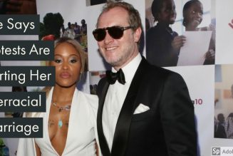 Eve Says Protests Are Hurting Her Interracial Marriage