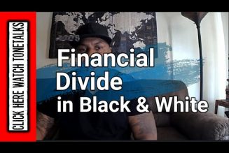 Financial Divide Explained in Black and White