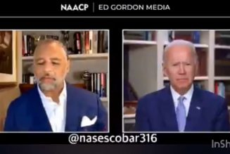 Joe Biden says he will ONLY support reparations if Native Americans are included 🤦🏽‍♂️ #ADOS
