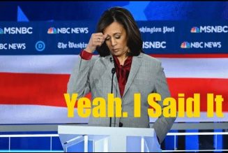 Kamala Harris Must Immediately To F*ck All The Way Off; She Doesn't Represent You.