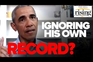 Krystal and Saagar REACT: Obama's speech ignores his own record