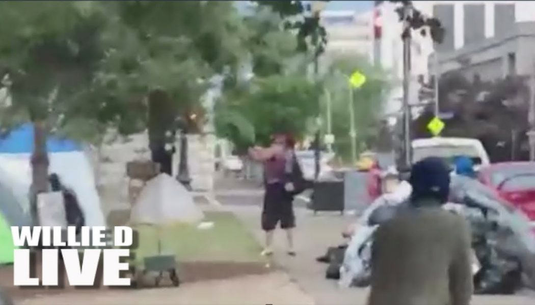 Man Opens Fire On Peaceful Breonna Taylor Protesters In Louisville Kentucky