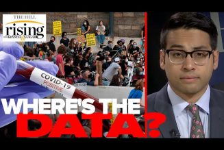 Saagar Enjeti: Dems, media CAUGHT covering up coronavirus outbreak data from protests