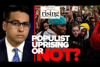 Saagar Enjeti: This Is A FAKE, Corporate Sponsored 'Populist Uprising'