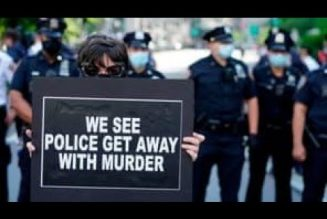 The Police Are Out Of Control & Lawless   Protests Break Out Across The Country