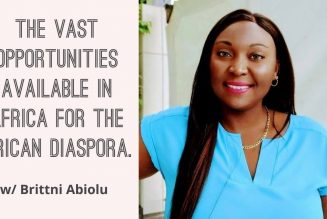 The Vast Opportunities Available In Africa For The African Diaspora. w/ Brittni Abiolu