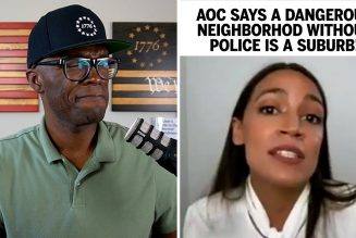 AOC Says A World Without Police Looks Like A Suburb!