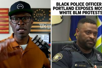 Black Police Officer EXPOSES Majority WHITE BLM Protests!