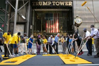 "BLM Is Being Co-opted. Trump Feels ""Persecuted"" By BLM Sign In Front His Hotel. He Should!"