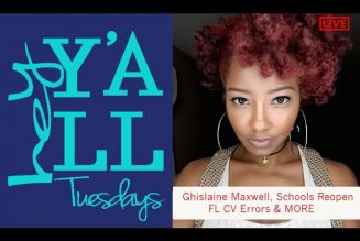 LIVE: G. Maxwell, Schools Reopening, FL's Reporting Errors & MORE