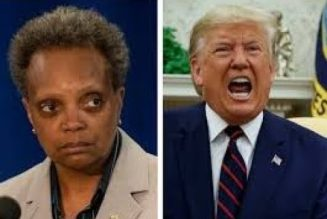 Mayor Of Chicago Lori Lightfoot Swallows Her Priide & Accepts Trump's Goons; Analysis Of Chicago