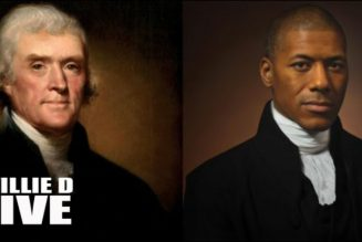 Thomas Jefferson alongside Black great grandson holds 'a mirror' to U S