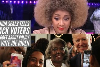 Amanda Seals Tells Black Voters To Forget About Policy And Vote Joe Biden