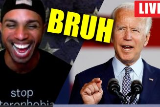 Biden FORGETS where he is during Build Back Better speech