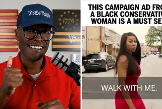 Black Conservative Baltimore Woman Makes GREAT Campaign Ad!