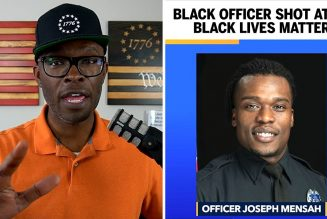 Black Police Officer SHOT AT By Black Lives Matter in Wisconsin!