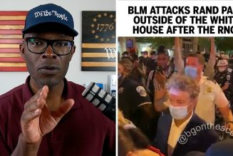 BLM ATTACKS Rand Paul Outside Of The White House After RNC!