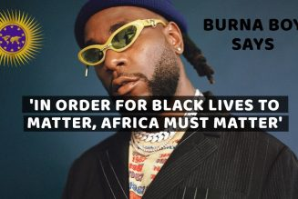 Burna Boy Says 'Brothers In The US Have Been Stripped Of Their Knowledge Of Self'