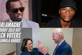 Charlamagne And Diddy Sold Out Black Voters For Kamala Harris