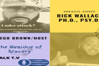 Dr. Rick Wallace Talks About the Residual Effects of Slavery and the Feminization of Black Men!