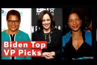 JOE BIDEN TOP VP BEDWENCH PICKS