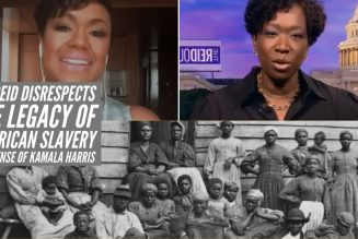 Joy Reid Disrespects The Legacy Of American Slavery In Defense Of Kamala Harris
