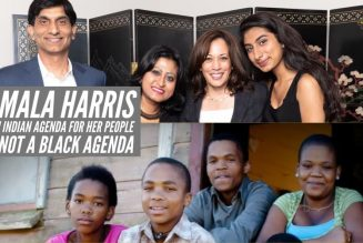 Kamala Harris Has An Indian Agenda For Her People But Not A Black Agenda