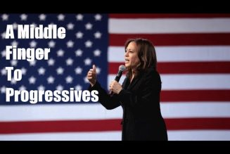 """Kamala Harris is A Middle Finger to Progressives"" w. Guest Lee Camp;"