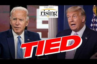Krystal and Saagar: SHOCK POLLS Show Biden-Trump Virtual Tie In Battleground States As DNC Starts