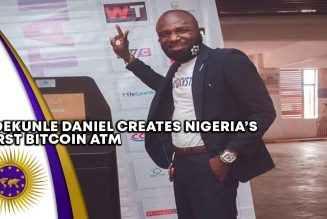 Nigerian Inventor Adekunle Daniel Creates Bitcoin ATM To Revolutionize Currency Trading