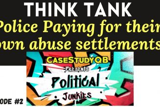 Police Policy – Police paying for their own abuse settlements instead of tax payers