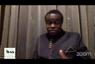 Prof. PLO Lumumba During the African Continental Free Trade Area conference (AFCFTA)