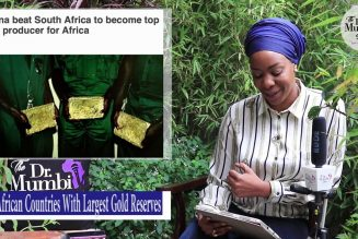 Top 10 African Countries With Largest Gold Reserves