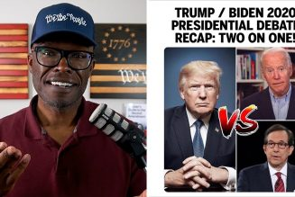 2020 Donald Trump Joe Biden Presidential Debate RECAP – Two On One!