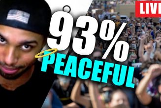 93% of protests found to be PEACEFUL
