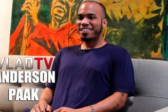 """Anderson Paak on Making """"Animals"""" with Dr. Dre & DJ Premier"""