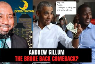 Andrew Gillum: The Broke Back Come Back?