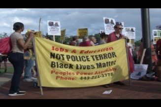 Baltimore Takes To The Streets To Protest Police Brutality